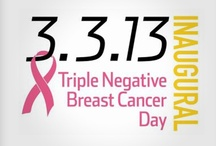 TNBC Day 2013 / Join the Fight! The inaugural Triple Negative Breast Cancer Day was held on 3-3-13. The mission of this iconic event is to bring together communities across the nation to raise awareness and fundraisers to support the Triple Negative Breast Cancer Foundation in funding breakthrough breast cancer research. Visit the TNBC Day microsite to learn more: http://www.tnbcfoundation.org/tnbcday/index.html. Follow updates using #TNBCDay.