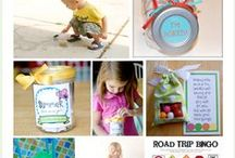 For the kids / simple things to do with your kids to keep everyone entertained.