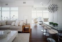 Interiors... Côté Jour ! / Kitchens | Lounges | Living Rooms | Dining Rooms | Desks... / by Dorine Benne
