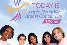 TNBC Day 2014 / Join the Fight! The second annual Triple Negative Breast Cancer Day will be held on 3-3-14. The mission of this iconic event is to bring together communities across the nation to raise awareness and fundraisers to support the Triple Negative Breast Cancer Foundation in funding breakthrough breast cancer research. Visit the TNBC Day microsite to learn more: http://www.tnbcfoundation.org/tnbcday2014/index.html