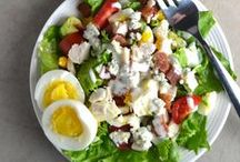 Real Food Salad Recipes / Salad recipes made with unprocessed and organic ingredients.