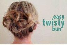 Fun Hair Things / Ways to use your hair