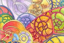 Dibujos, bosquejos, colores / ...pura creatividad...