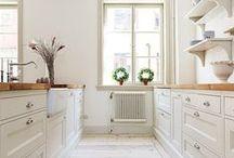 Scandinavian Decor / clean, clear, crisp