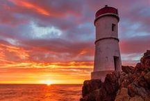 Lighthouses / the magic of the sea guardian...