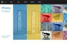 Strona www dla Ajour / Strona internetowa dla marki Ajour [projekt+wdrożenie]. Stronę możecie obejrzeć pod adresem www.ajour.pl