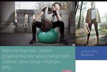 Sklep internetowy dla JoannaLitwaDesign / Projekt layoutu sklepu internetowego