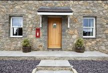 External doors - Timber / A selection of lifestyle images that showcase our range of external doors.