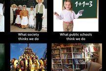 A homeschoolers life / Stuff homeschoolers know allllllll about. Haha