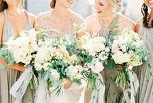 Bridesmaid and Wedding Party Inspiration / Bridesmaids and wedding party inspiration for Fine Art weddings