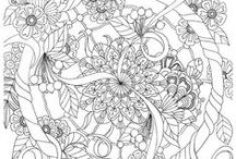 Coloring ~ Mandalas & Zentangle