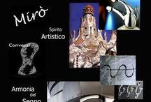 MIRO' / MIRO Bongio 1998  IL SEGNO: curve come pennellate…. saltarello, leva e bocca disegnano MIRÒ. PRODOTTO: MIRO AZIENDA: Bongio 1998