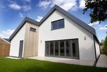 New Build - Gorgeous Grey / Here's a stunning new build project that fitted our contemporary Eco Grigio doors