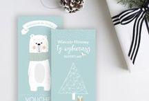 Vouchery prezentowe >> DO POBRANIA / Pobierz darmowe vouchery prezentowe WINTER EDITION. Doskonale sprawdzą się jako prezent świąteczny, urodzinowy czy bez okazji. Tak od serca.
