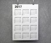 Kalendarz dni wolnych 2017 >> DO POBRANIA