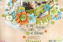 Scrapbook Page Ideas / by Kathy Wolansky