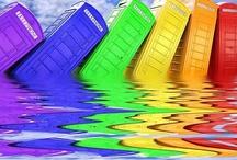 Mixed Rainbow Colors / by Rene Inge