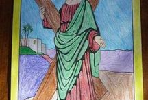 Roman Catholic Saints / Roman Catholic Saints: Jesus, Mary and Joseph; Martyrs; Angels, and more.