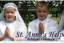 +❤Saint Anne's Helper❤+ Roman Catholic Catechism / Saint Anne's Helper,  Roman Catholic Catechism,  ❤ catechism, catholic catechism, Baltimore Catechism,   audio Baltimore Catechism, Catholic worksheets, coloring pages to print, Catholic coloring pages. If you use the Baltimore Catechism, you'll love www.SaintAnnesHelper.com Follow now to remember later. :-)