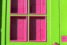 Green and Pink ---love it / by Rene Inge