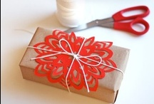DIY: Gift Wrapping / Great DIY gift ideas plus unique gift wrapping.  / by Natalie | Crème de la Craft