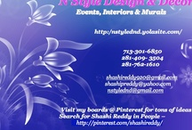 N'Style Design & Decor / Event Decor, Interiors and Murals serving Houston and surrounding areas. / by N'Style Design & Decor