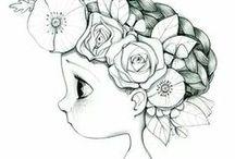 Doodle en tekenen ✐✎✐