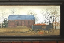 Billy Jacobs Art / Billy Jacobs is a folk art painter from Ohio and our most popular artist. KP customers love Billy Jacobs, so add his art to your home decor for a tranquil look that will remind you of a ride down a country road from long ago.