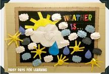 What's the Weather Like? / ideas for teaching weather in kindergarten