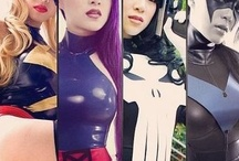 cosplay heroes / by Lucky Jay Ar