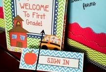 Back to School / back to school ideas for the primary grades and kindergarten