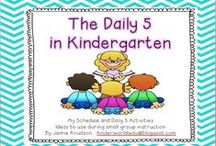 Daily 5 / Daily 5 routines and procedures in kindergarten