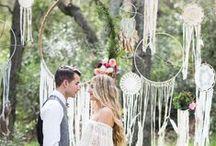 Boho Weddings / Bohemian wedding inspirations