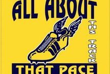 Track & Cross Country Shirts / Inspiration for creating custom t-shirts and other apparel  for your track and cross country runners and team members