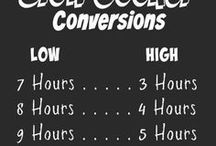 Crockpot/slowcooker recepten