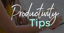 Productivity / Productivity, time management, productivity for moms, goals
