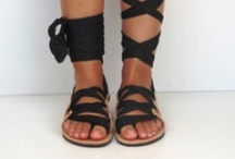Strappy Shoes / by Erin Borja