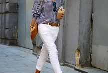 Outfit Ideas / capsule wardrobe ideas | mom clothes | mom outfits | mom-uniform | preppy casual outfits | nautical style