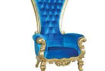 Le Bleu / Beautiful French Rustic & Shabby Chic furniture finished in French Blue  www.fabulousandbaroque.com