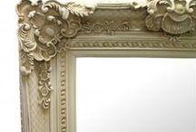 Mirror Mirror on the Wall /  What a beautiful reflection. www.fabulousandbaroque.com