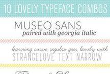 Typography / by Jen Martakis
