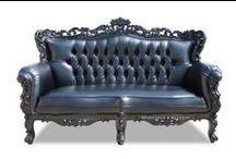 Everlasting Black / A collection of Black French Ornate Modern Baroque & Rococo Furniture  www.fabulousandbaroque.com