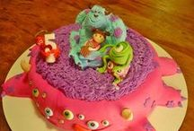 Cake! / Amazing Cakes with Disney Characters on them. / by Laura Cantrell