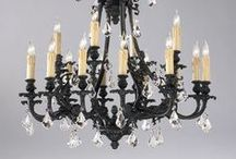 Illuminate your Life! / Here are some of our favorite lighting options! www.fabulousandbaroque.com