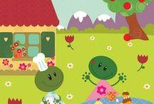 Mili Boom - Illustration Jeunesse / illustration, cute, kawaï, enfants, kids, naissance, lapin, rabbit, vectoriel, art, color, humor, couleur, humour, presse, jeunesse, livre, edition, freelance, paris, France, picto, animal, youth