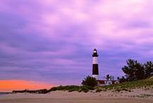 Michigan Lighthouses / by Lea Anne Borngesser