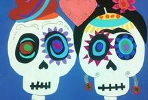 Día de los Muertos - Art Ideas / by scartteacher