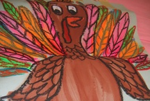 Thanksgiving - Art Ideas / by scartteacher