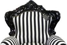 Ebony and Ivory / What is better than the two most classic colors in the book? Black and White!  www.fabulousandbaroque.com