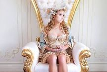 Royal Thrones / Here are some of our favorite Fabulous and Baroque chairs!